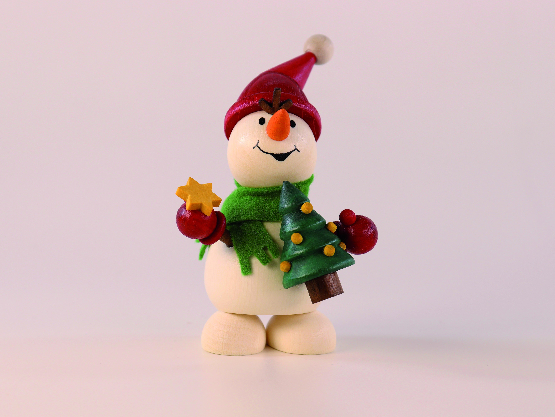 Schneemann mit Weihnachtsbaum zum Hinstellen kaufen