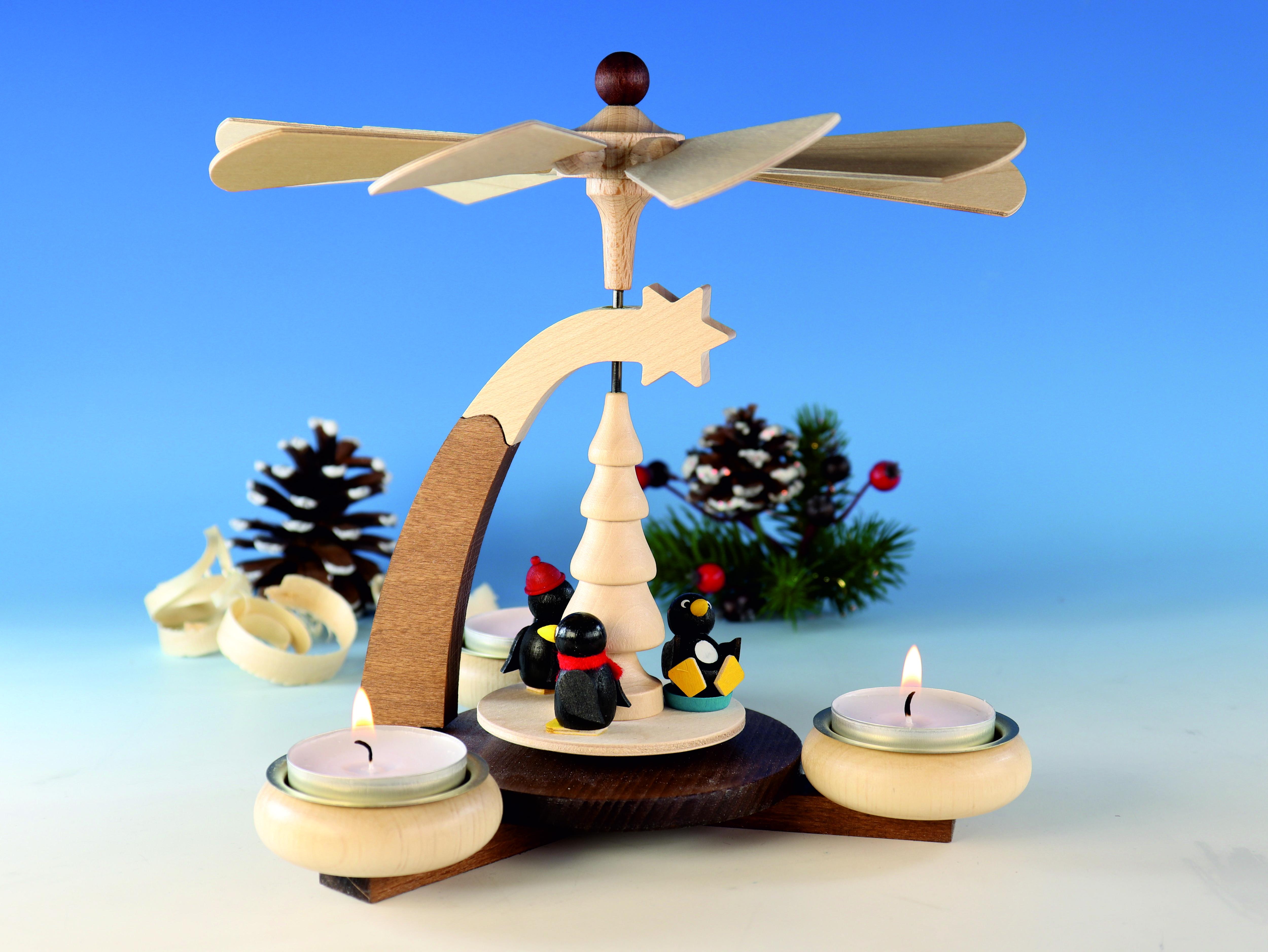 design-teelichtpyramide-braun-natur-und-tuellen-natur-mit--pinguine-fuer-3-teelichte-hoehe-19cm-20-ullrich-kunsthandwerk-paul-ullrich-volkskunstbestehen