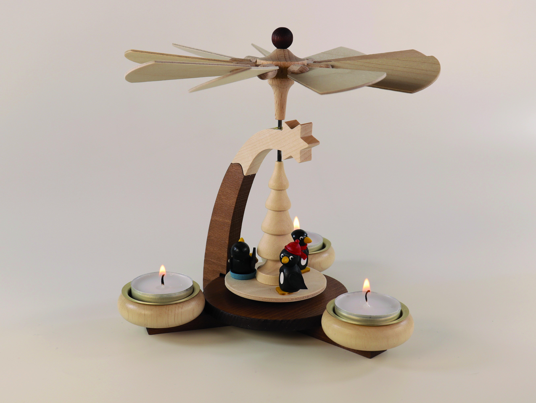 design-teelichtpyramide-braun-natur-und-tuellen-natur-mit--pinguine-fuer-3-teelichte-hoehe-19cm-10-ullrich-kunsthandwerk-paul-ullrich-volkskunstbestehen